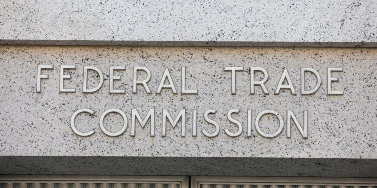 The Federal Trade Commission headquarters in Washington, D.C., August 29, 2020. REUTERS/Andrew Kelly