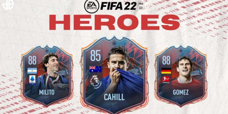 Promo image of FUT heroes coming to FIFA 22